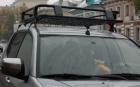 Алюминиевый багажник Mitsubishi L200 New